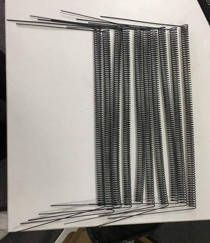 Tungsten twisted wire tungsten spiral 2