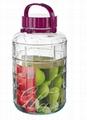 清瓶乐玻璃方格瓶