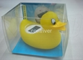 Baby duck bath thermometer