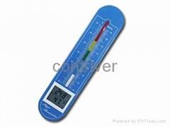 TH02 数显温湿度计