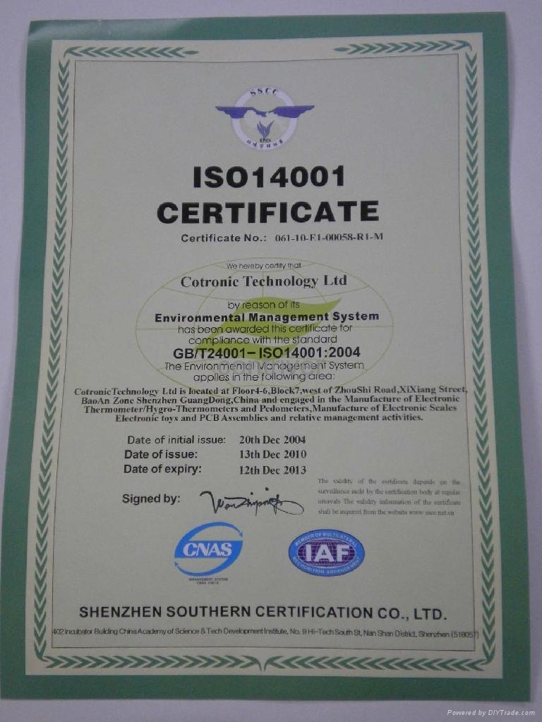 ISO 9001 and 2000