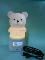 Night light with thermometer and Hygrometer