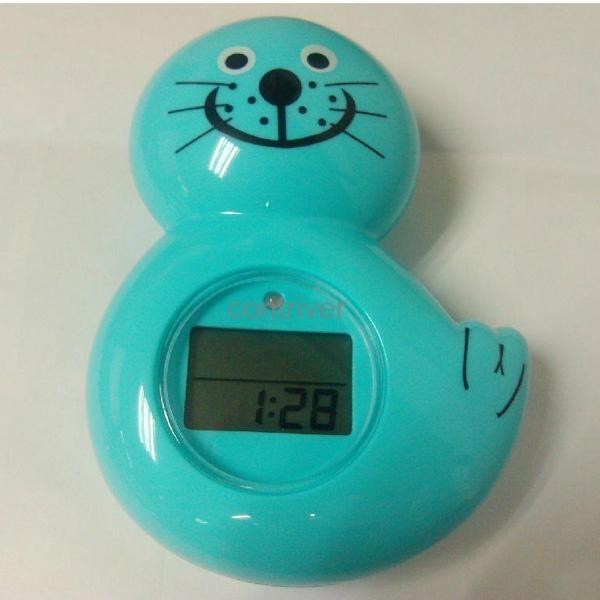 海獅浴缸室內兩用溫度計 3