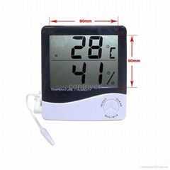 large display in/out digital thermometer & Hygrometer