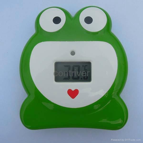 青蛙浴缸温度计 7