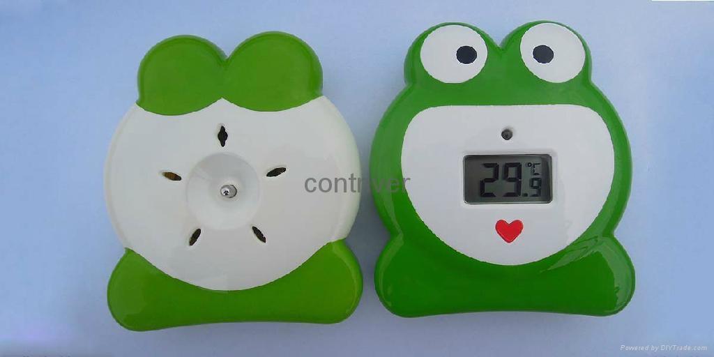 青蛙浴缸温度计 8