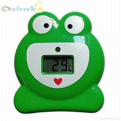 青蛙浴缸温度计