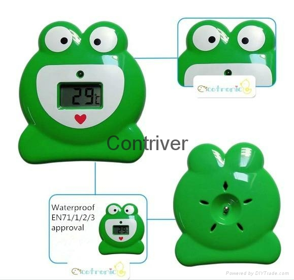 Frog digital bath thermometer 4