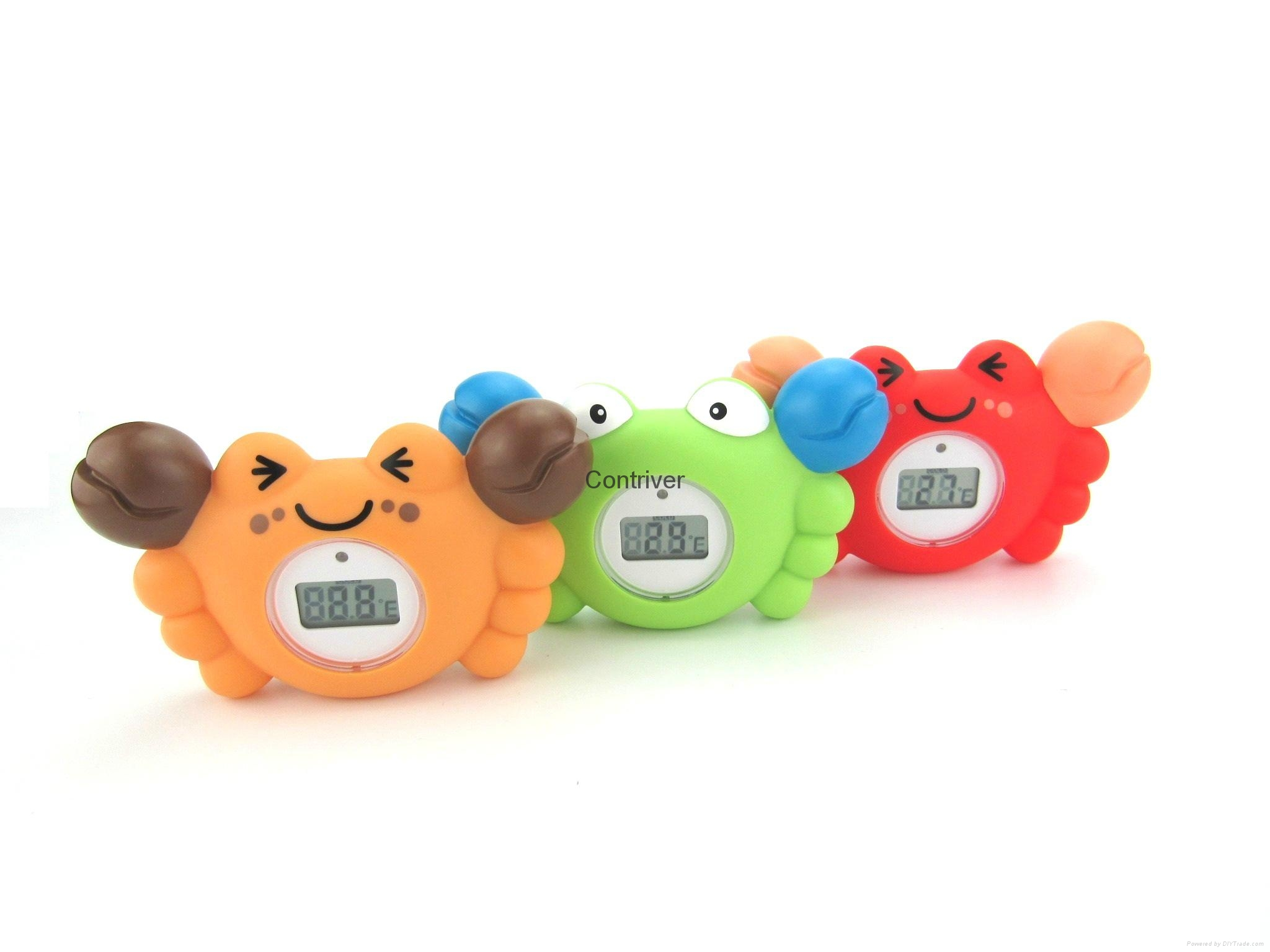Crab baby bath thermometer 4
