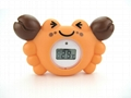 Crab baby bath thermometer 2