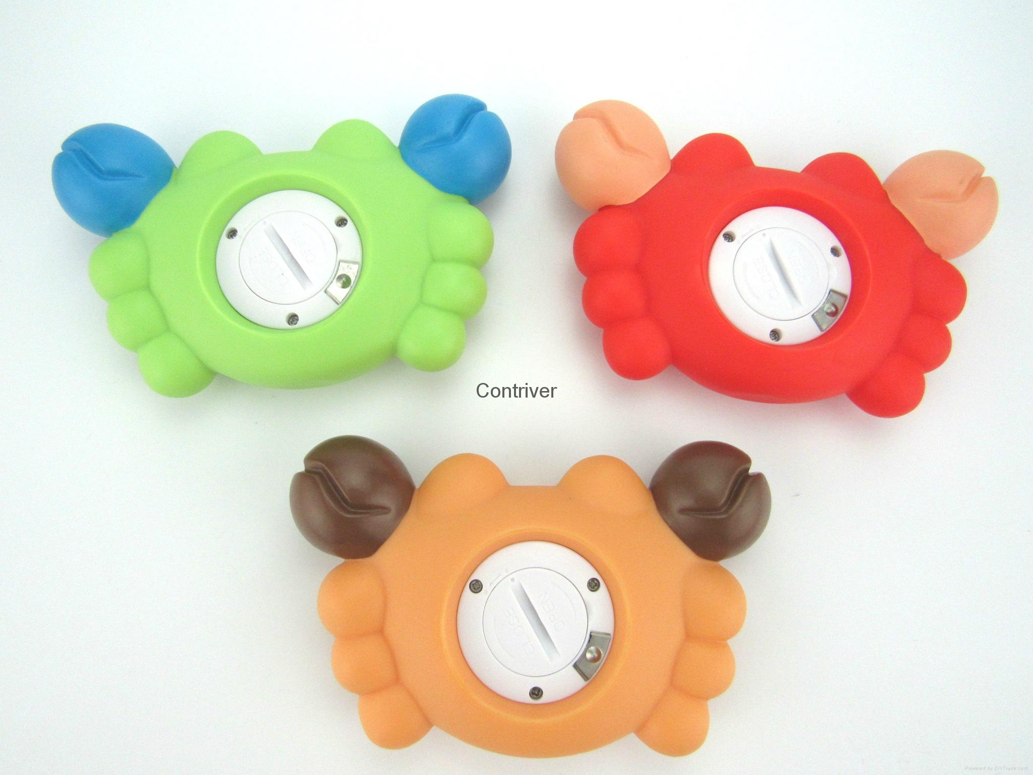 Crab baby bath thermometer 6