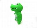 Crocodile baby bath thermometer
