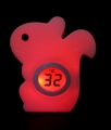 Squirrel Night light with thermometer