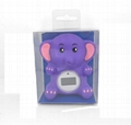 Elephant baby bath thermometer