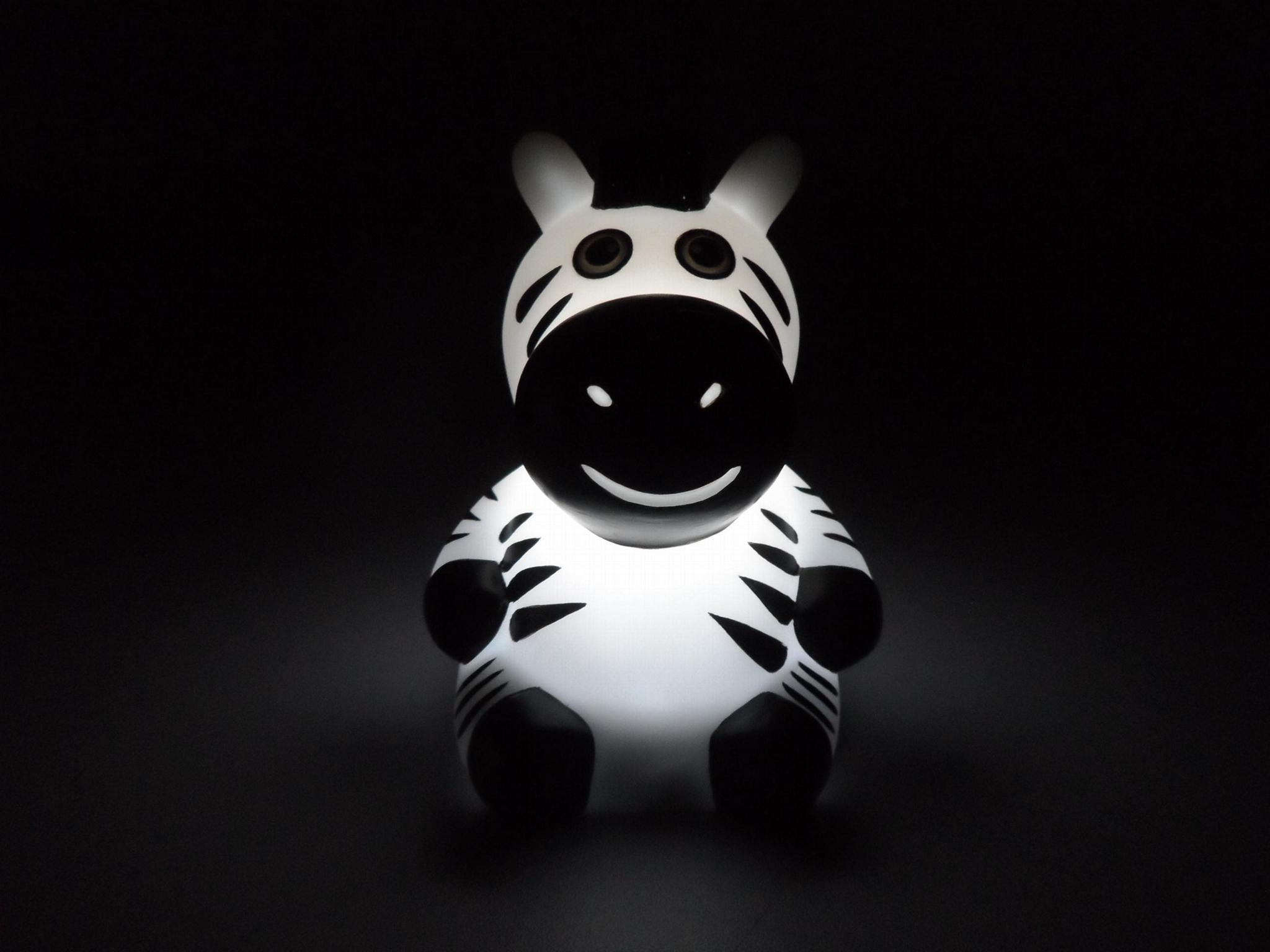 NL6 zebra baby night light 1