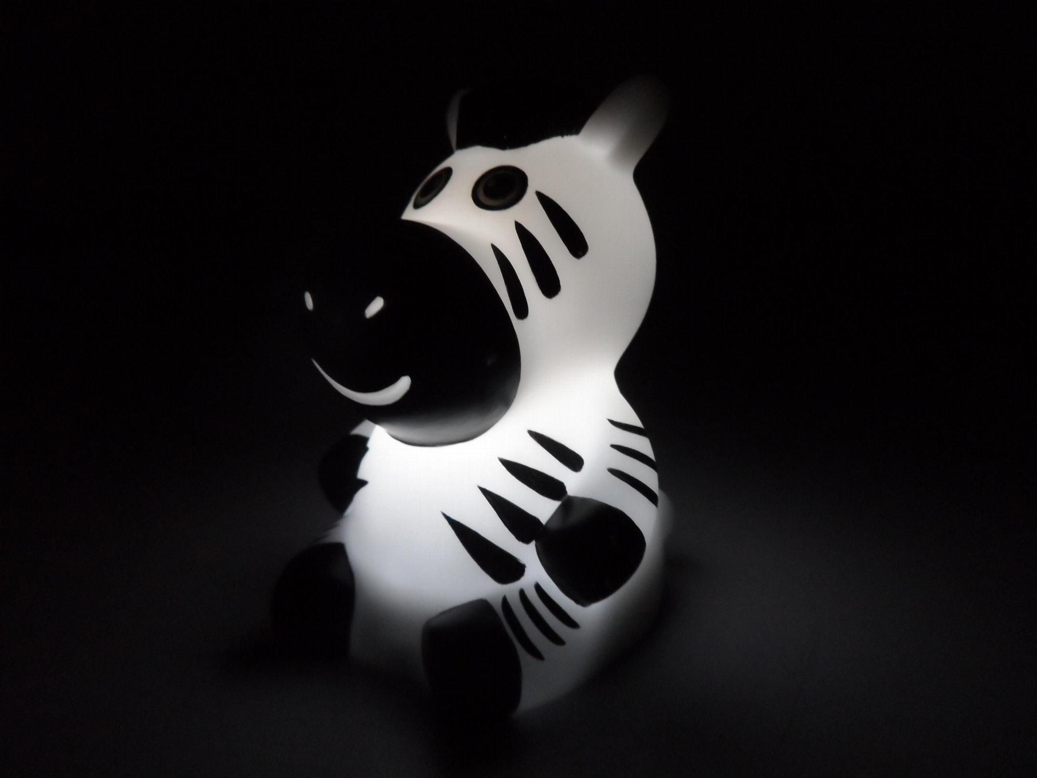 NL6 zebra baby night light 2