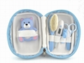 Bear baby thermometer set
