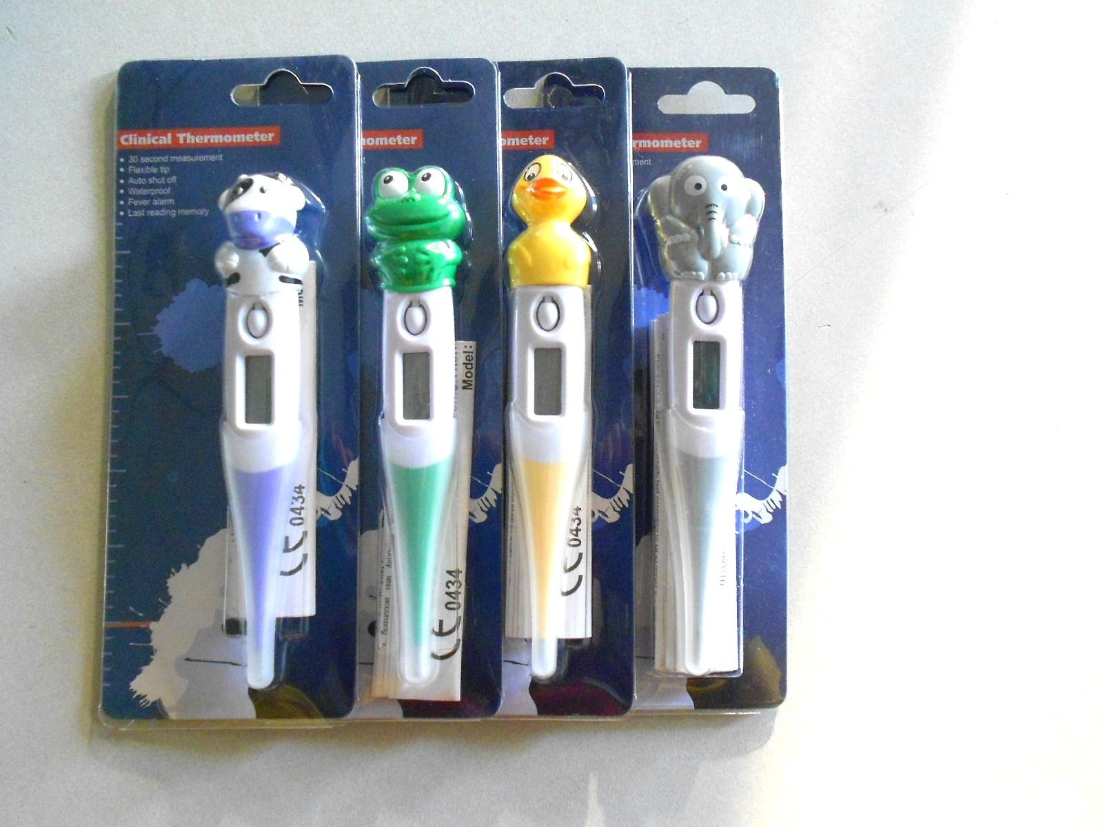 FDA,CE approved Digital thermometer with flexible tip 4