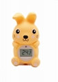 Rabbit baby bath thermometer