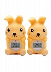 兔子浴缸室內兩用溫度計