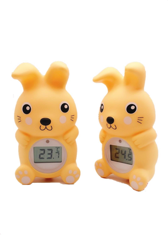 兔子浴缸室內兩用溫度計 3