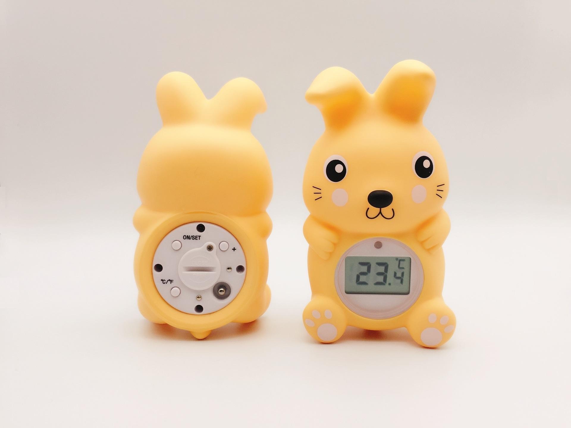 兔子浴缸室內兩用溫度計 7