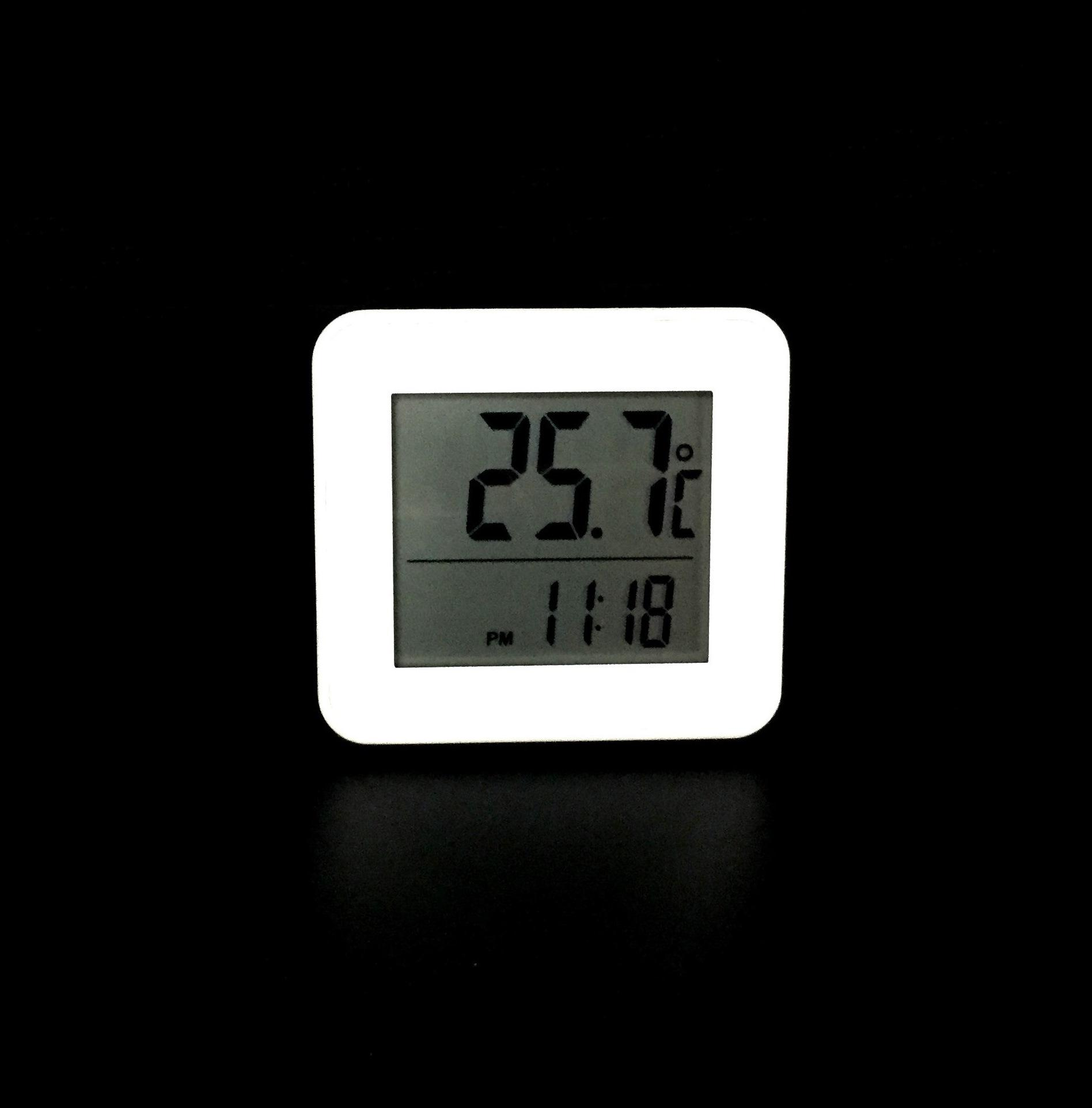 室內溫度計 帶鬧鐘 1