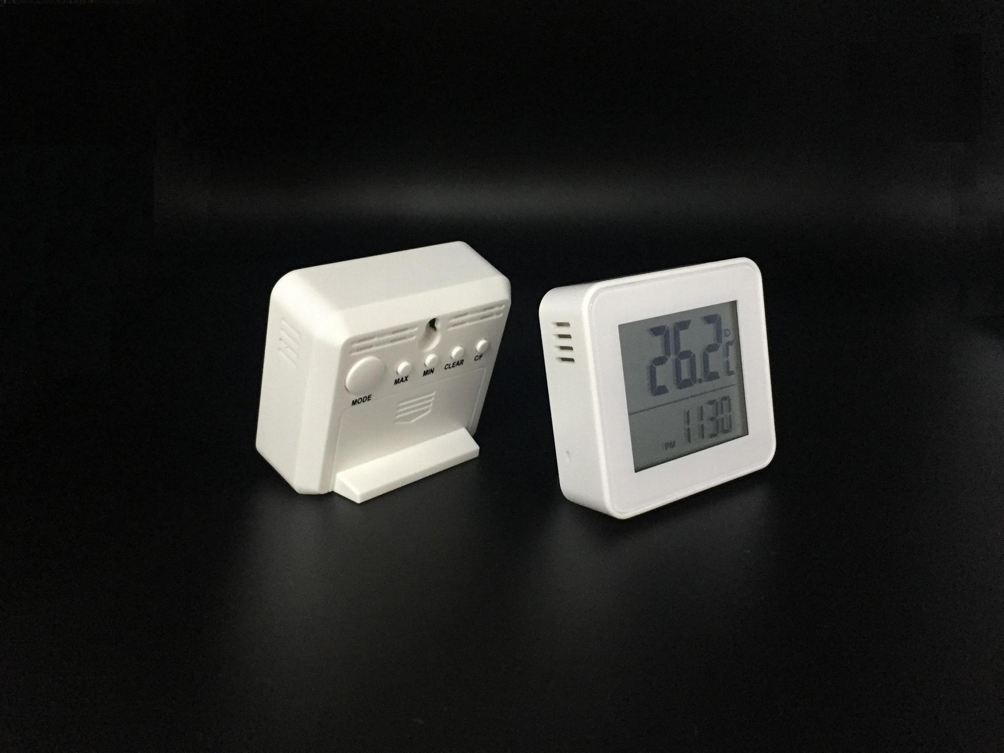 室内温度计 带闹钟 3
