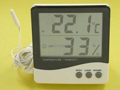 室内外电子温湿度计