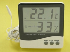 Large Display In/Out Hygro-thermometer