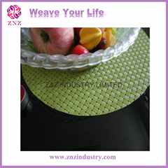Plastic weaving placemat by ZNZ