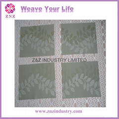 Placemats, PVC placemats, table mats, PVC+poly placemats by ZNZ