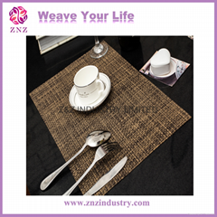 PVC Woven Placemat-New design by ZNZ