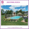 ZNZ factory directly sales portable safety removable anti climb pool fence panel 2