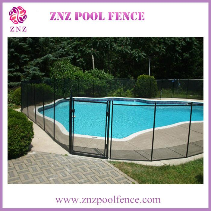 ZNZ factory directly sales portable safety removable anti climb pool fence panel 3