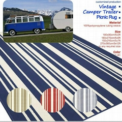 ZNZ Recycled PP Woven Picnic Mat