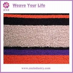 Anti-slip PVC circle carpet by ZNZ