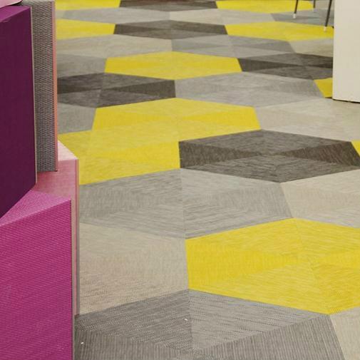 Znz Colorful Vinyl Flooring