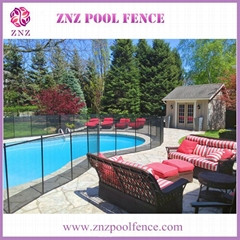 ZNZ factory directly sales portable safety removable anti climb pool fence panel