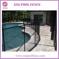 ZNZ  SGS certification aluminum removable portable aluminum fence garden parts
