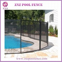 ZNZ welcome OEM ODM portable portable mesh invisible aluminum fence poles