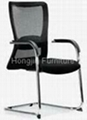 High-Back Fabric Adjustable Office Chair 3