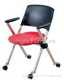 High-Back Fabric Adjustable Office Chair 5