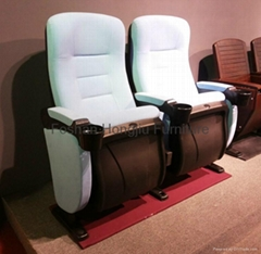 Chinese liftable cupholder cinema seating