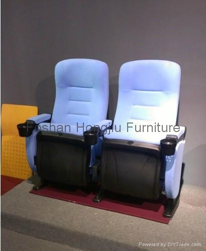 Chinese liftable cupholder cinema seating 5
