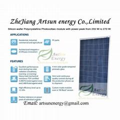 Poly solar panel 255W-27