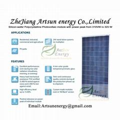 Poly solar panel 310W-32
