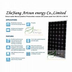 Mono solar panel 265W-28