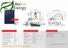 Poly solar panel 80W