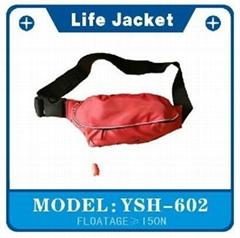 包包型充气式救生衣